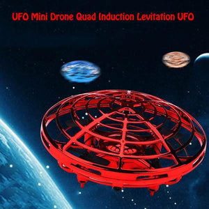 Best Christmas present -Mini Drone Quad Induction Levitation UFO