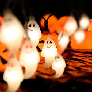 🔥HALLOWEEN DECORATION🔥- 20 LEDS HALLOWEEN PUMPKIN LANTERNS DECORATION FAIRY STRING LIGHT