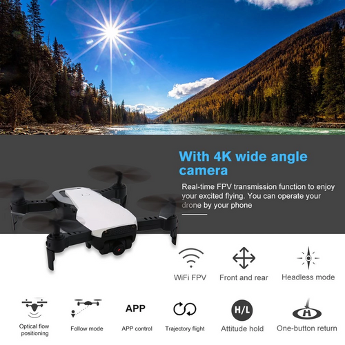 X12S DRONE WITH 1080P/4K DUAL CAMERA HD WIDE ANGLE RC PLANE WIFI FPV DRONE