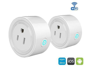 Mini WIFI Smart Outlet, Remote Control, Timing Switch + Electricity Saving!! - whnsp