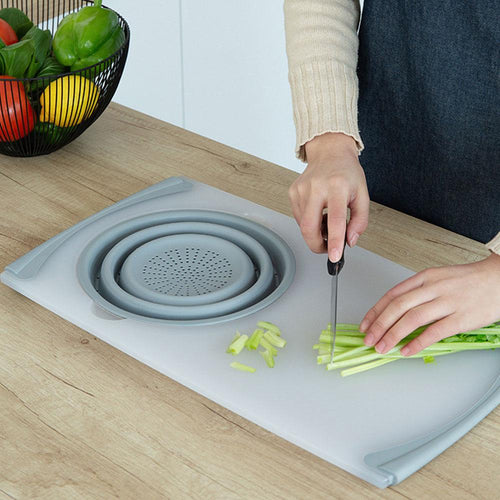 Kitchen Multifunctional silicone cutting board
