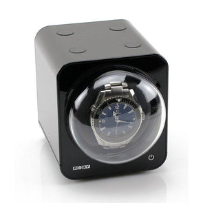 Boxy Fancy Brick Watch Winder black