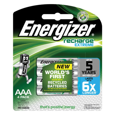 NH12BP4T Rechargeable AA Energizer 4 pack