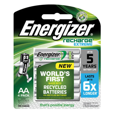 NH15BP4T Rechargeable AAA Energizer 4 pack