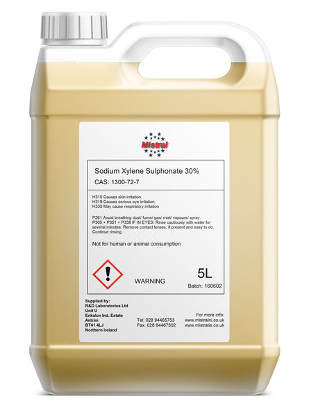 Sodium xylene sulphonate 30% - SXS30