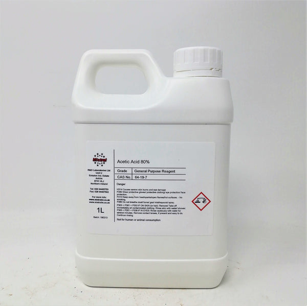 Acetic Acid 80% (Ethanoic Acid)