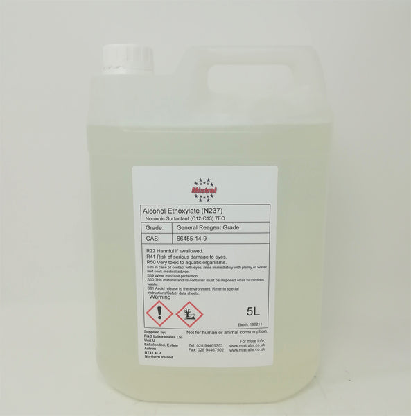 Fatty Alcohol Ethoxylate - Nonionic surfactant - C12-13 7EO (N237)
