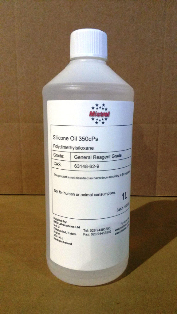 Silicone Oil 350 cPs (Polydimethylsiloxane PDMS)