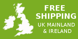 Free Shipping on All Items to UK and Ireland