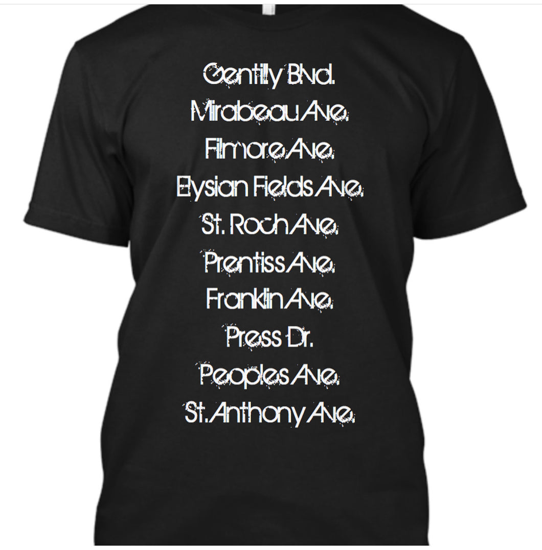 GENTILLY (1st Edition Men's T-shirt)
