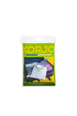 Korjo Resealable Packing Bags
