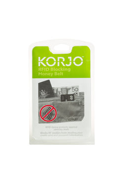 Korjo RFID Blocking Money Belt