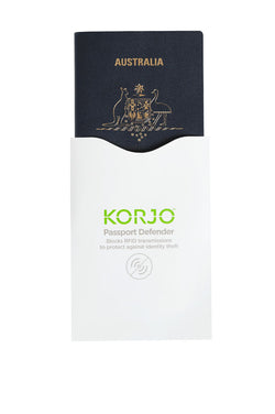 Korjo RFID Blocking Passport Defenders