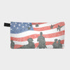 Small Zipper Bag - American Heroes