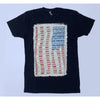 T-Shirt - American's Pastime (Black, Navy & White)