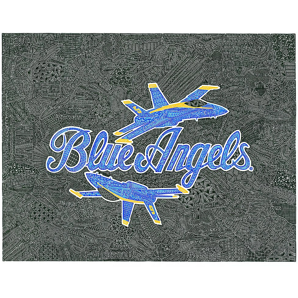 Art Print - Blue Angels-Art Print-Viz Art Ink