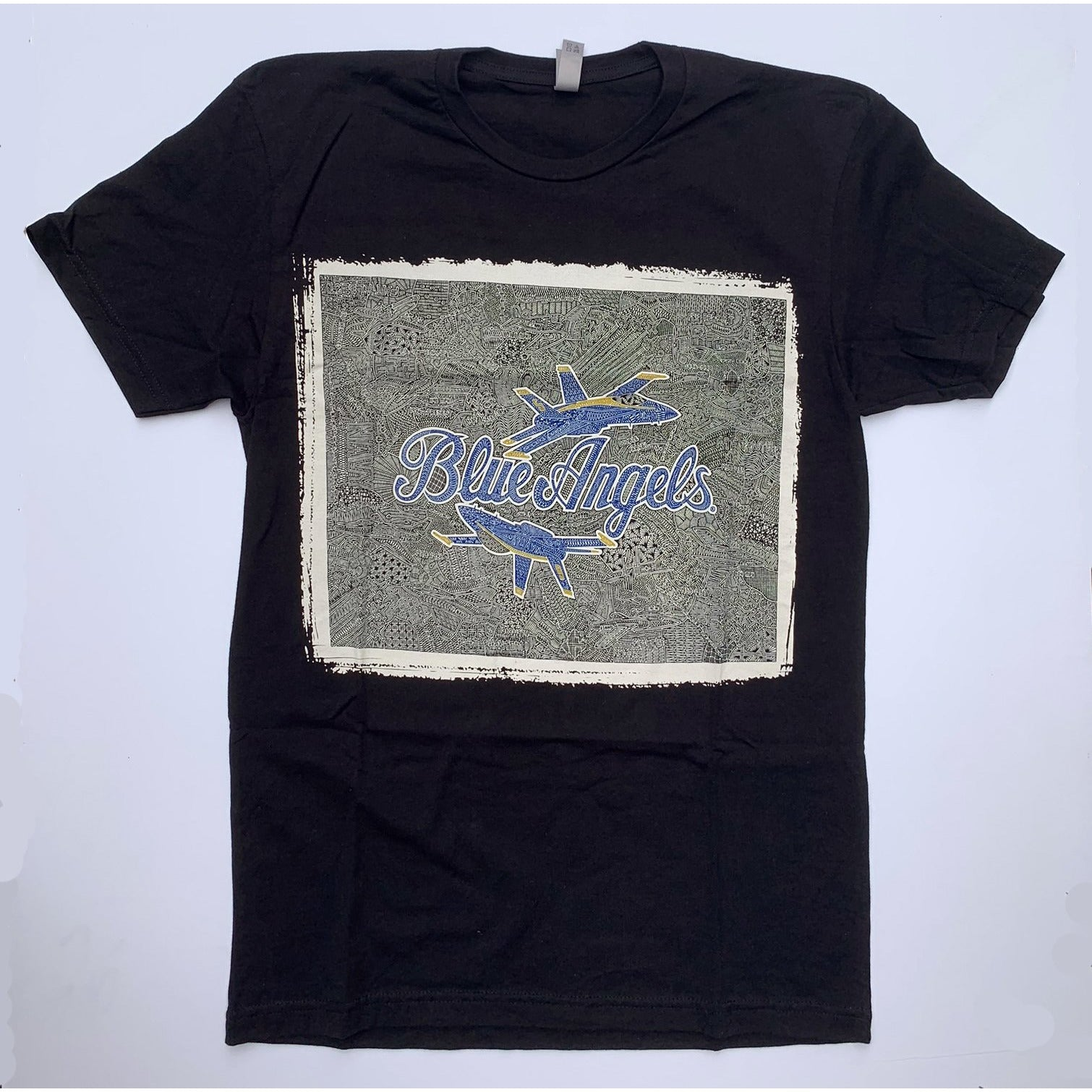 T-Shirt - Blue Angels (Navy & Black)