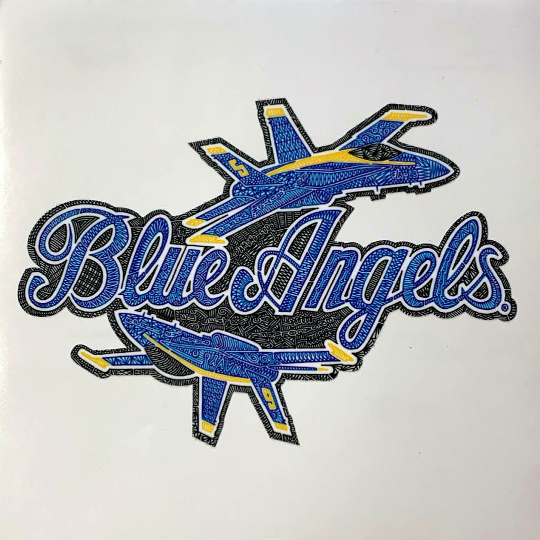 Vinyl Sticker - Blue Angels