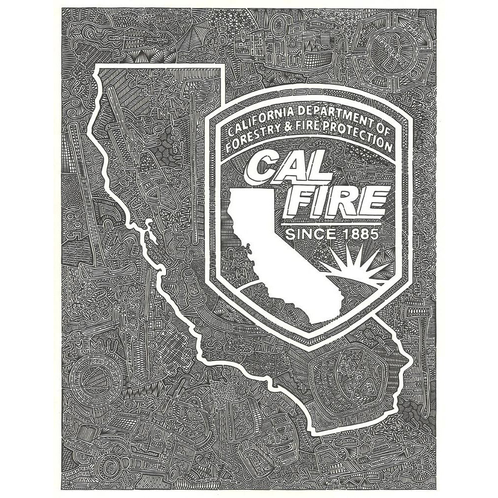 CAL FIRE-Gallery-Viz Art Ink