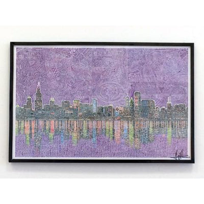 Art Print - Chicagoland-Art Print-Viz Art Ink