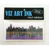 Vinyl Sticker - Chicagoland-Stickers-Viz Art Ink