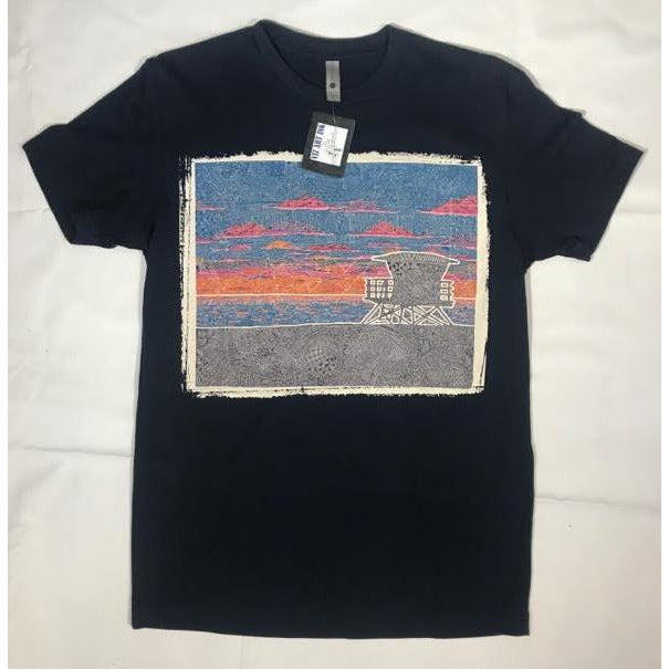 T-Shirt - Coastal California (Navy & White)