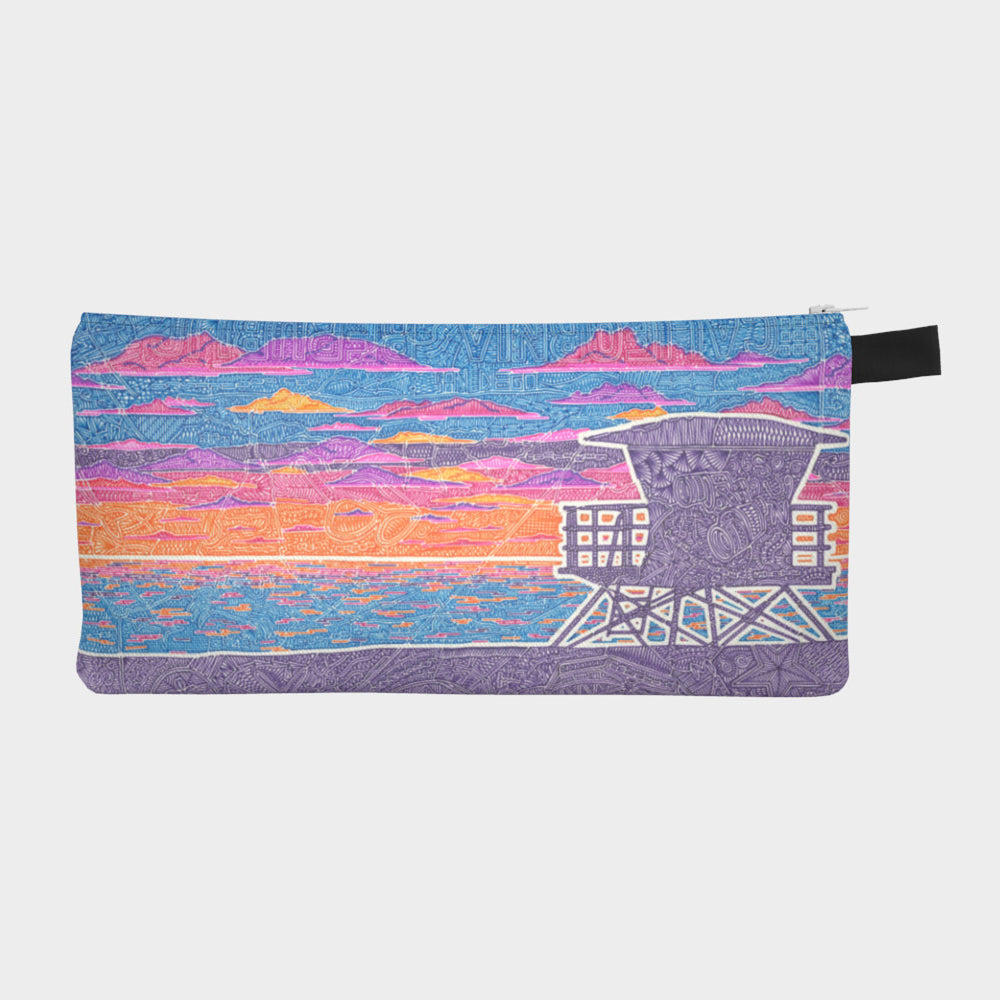 Small Zipper Bag - Coastal California