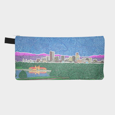 Small Zipper Bag - Downtown Denver
