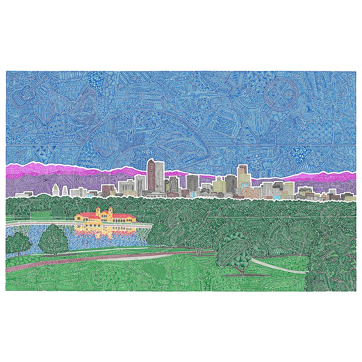 Art Print - Downtown Denver
