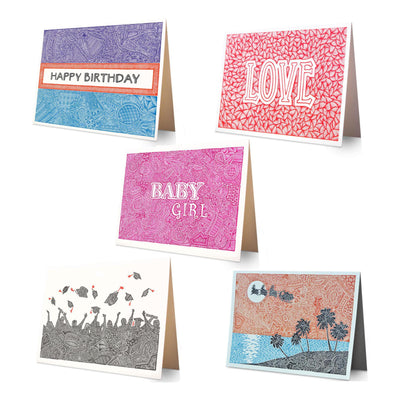 Greeting Cards - 5 Card Combo