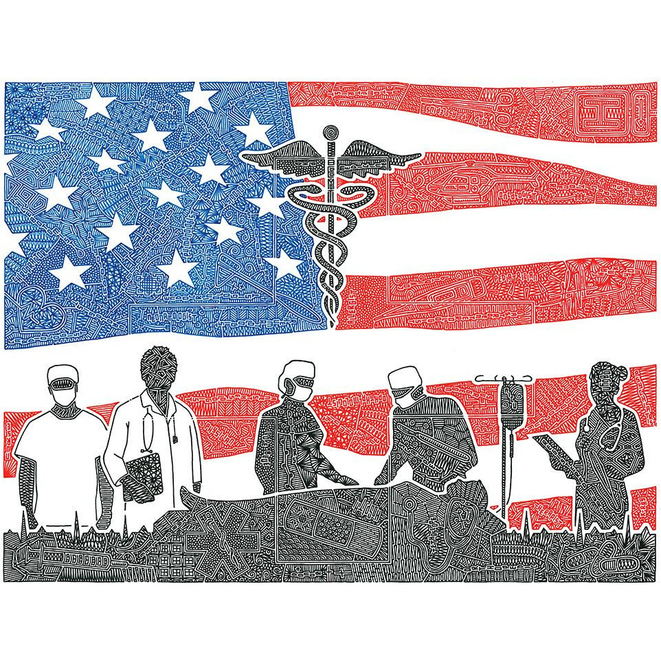 Art Print - Healthcare Heroes