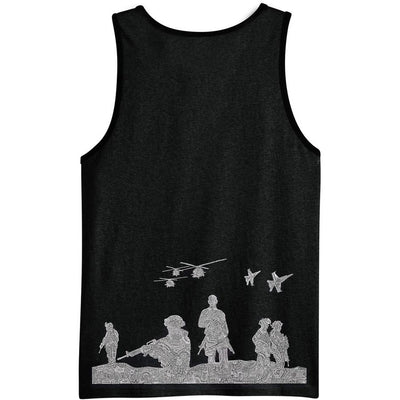 Tank Top - American Heroes-Clothing-Viz Art Ink
