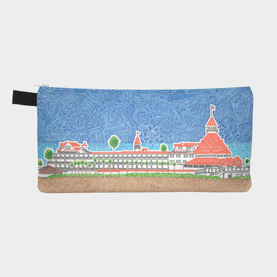 Small Zipper Bag - Hotel Del