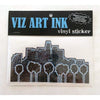 Vinyl Sticker - Illuminating LA-Stickers-Viz Art Ink