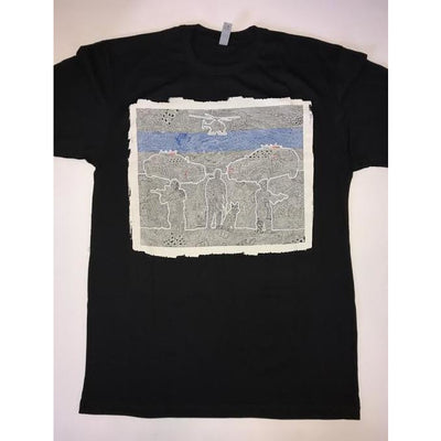 T-Shirt - The Thin Blue Line-Clothing-Viz Art Ink