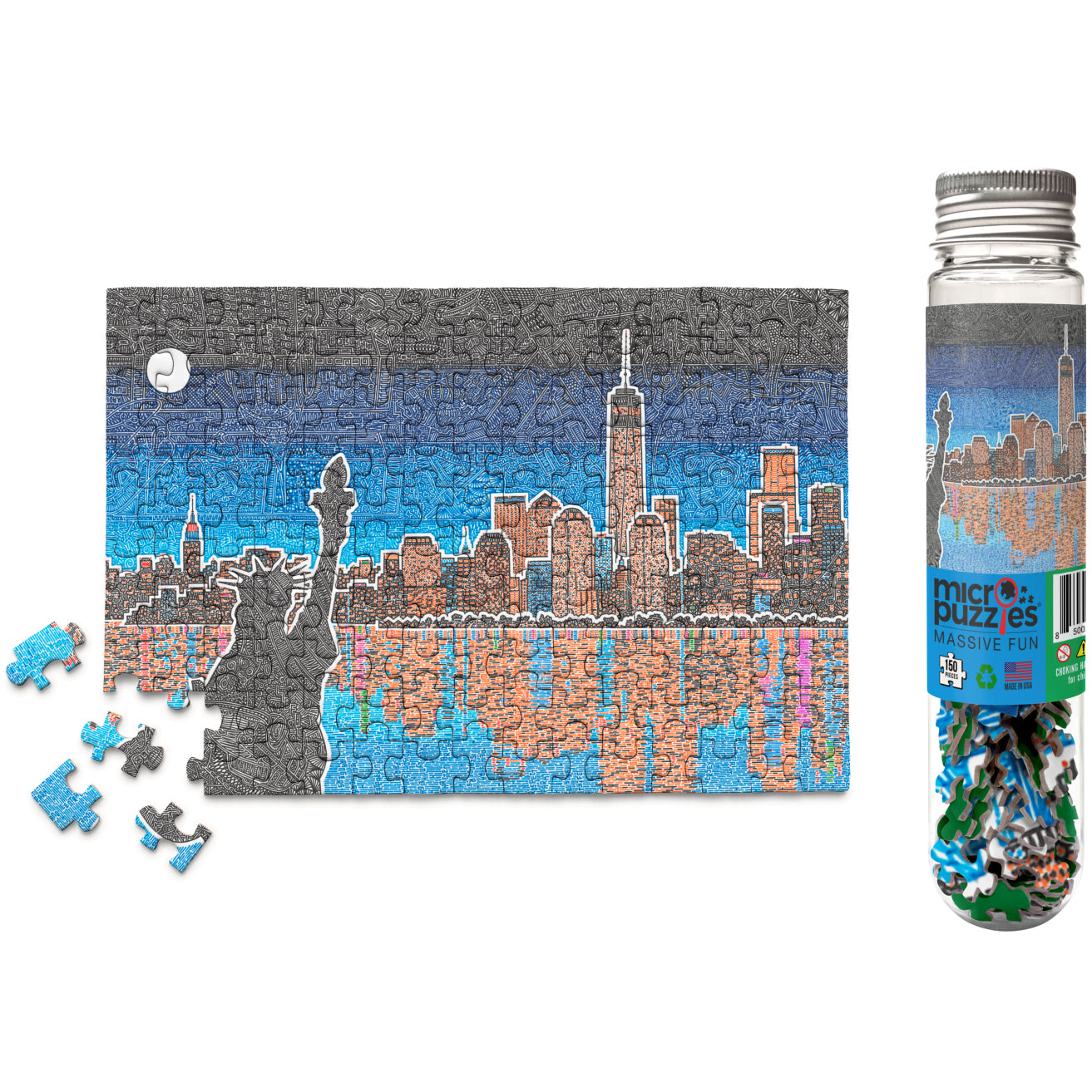 Micro Puzzle - Light Up New York