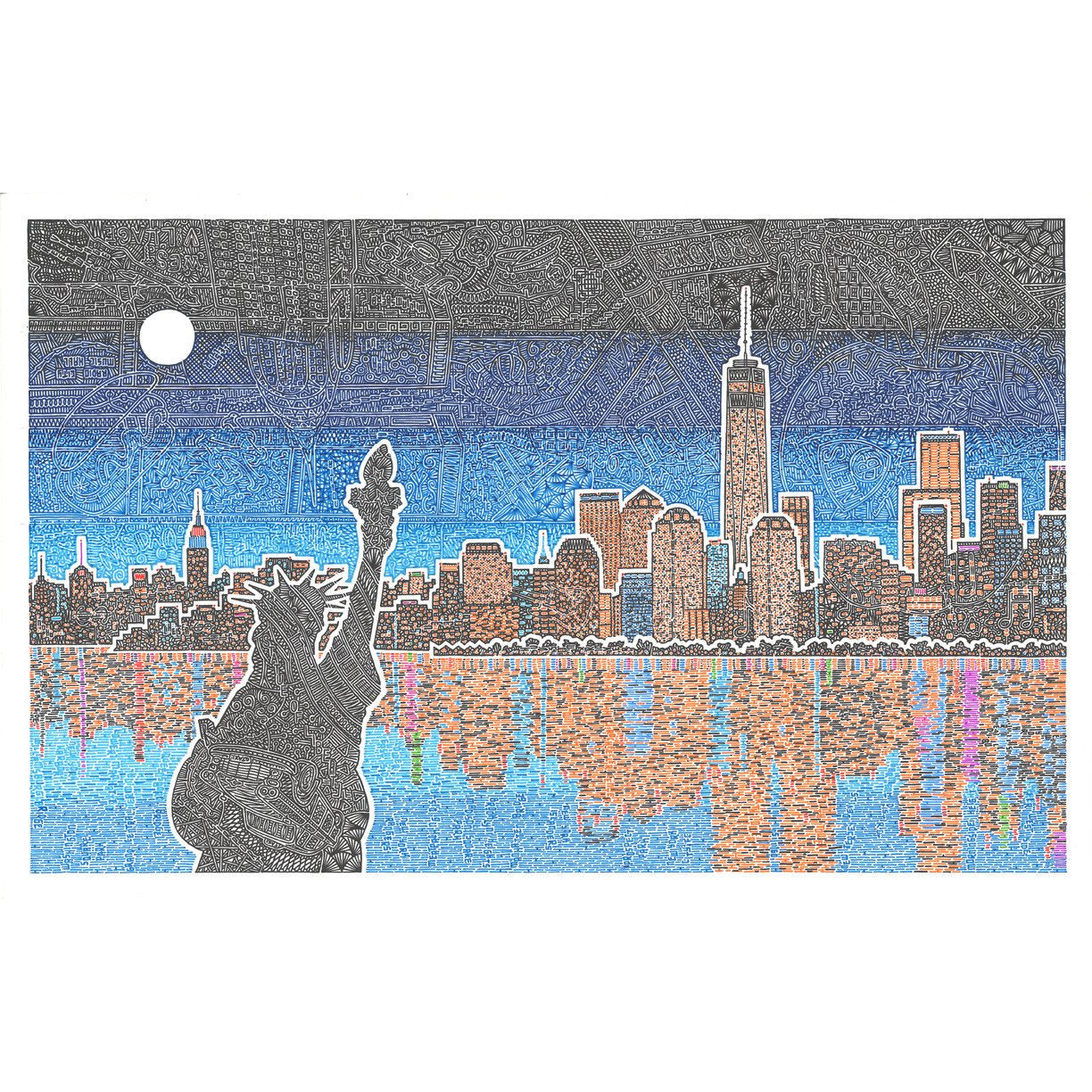 Art Print - Light Up New York