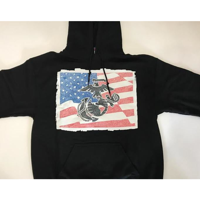 Sweatshirt - Marines - Red, White & Blue