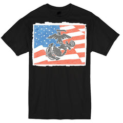 T-Shirt - Marines - Red, White & Blue