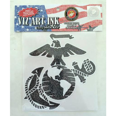 Vinyl Sticker - Marines-Stickers-Viz Art Ink