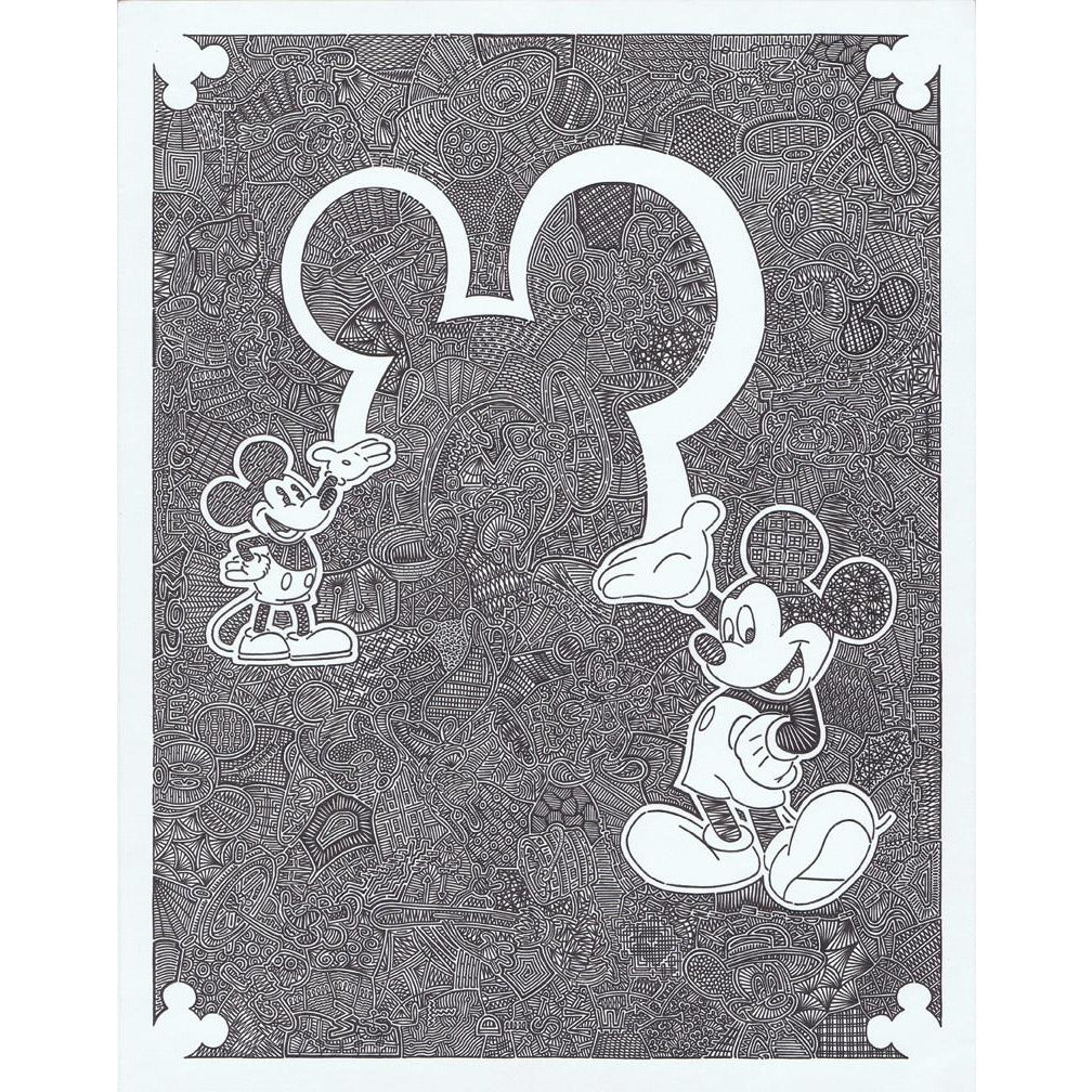 "Disney ""Memories of Mickey""-Gallery-Viz Art Ink"