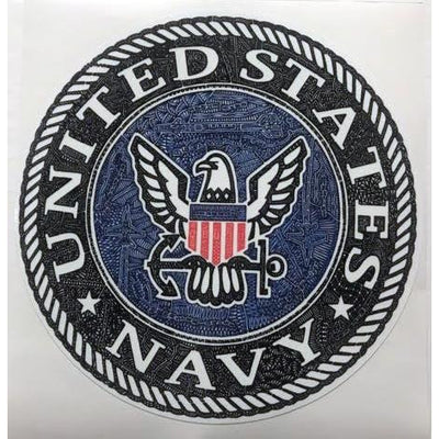 Vinyl Sticker - U.S. Navy-Stickers-Viz Art Ink