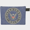 Large Zipper Bag - U.S. Navy