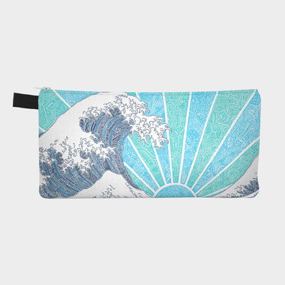 Small Zipper Bag - Off California (Blue)