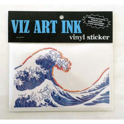 Vinyl Sticker - Off California (Blue)-Stickers-Viz Art Ink
