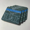 Coasters - Thin Blue Line