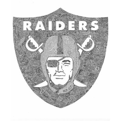 Art Print - RAIDERS-Art Print-Viz Art Ink