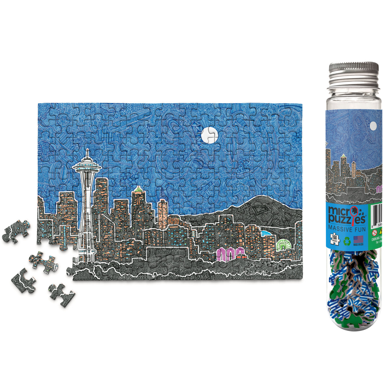 Micro Puzzle - Seattle's Night