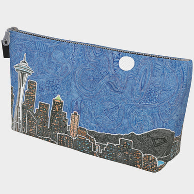 Makeup/Carry Bag - Seattle's Night