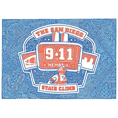 San Diego 9/11 Memorial Stair Climb
